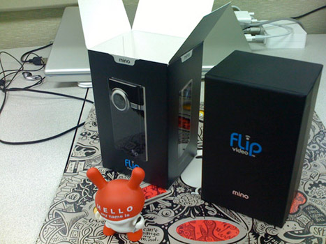 3, flip video mino unboxing
